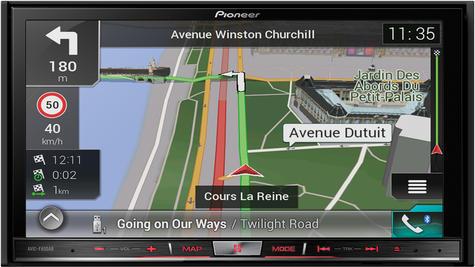 "Pioneer AVIC F80DAB 7"" DAB+ Bluetooth GPS Navigation Apple CarPlay Android Auto Thumbnail 2"