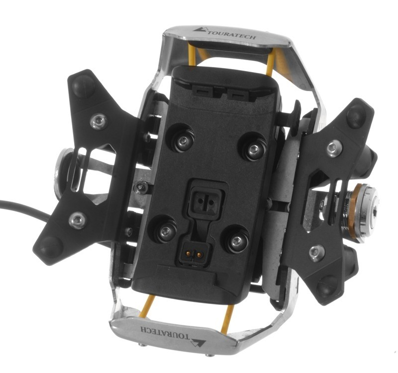 Touratech High Quality Lockable Mount Black for Garmin Zumo 390 350 340