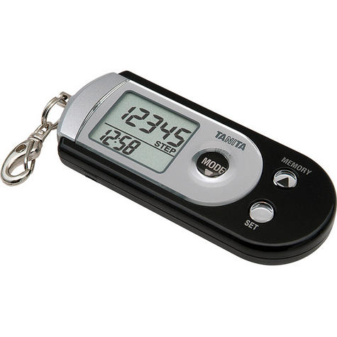 Tanita 3 Axes Pedometer Step Distance Calorie Counter Place in Pocket/Bag PD724 Thumbnail 2