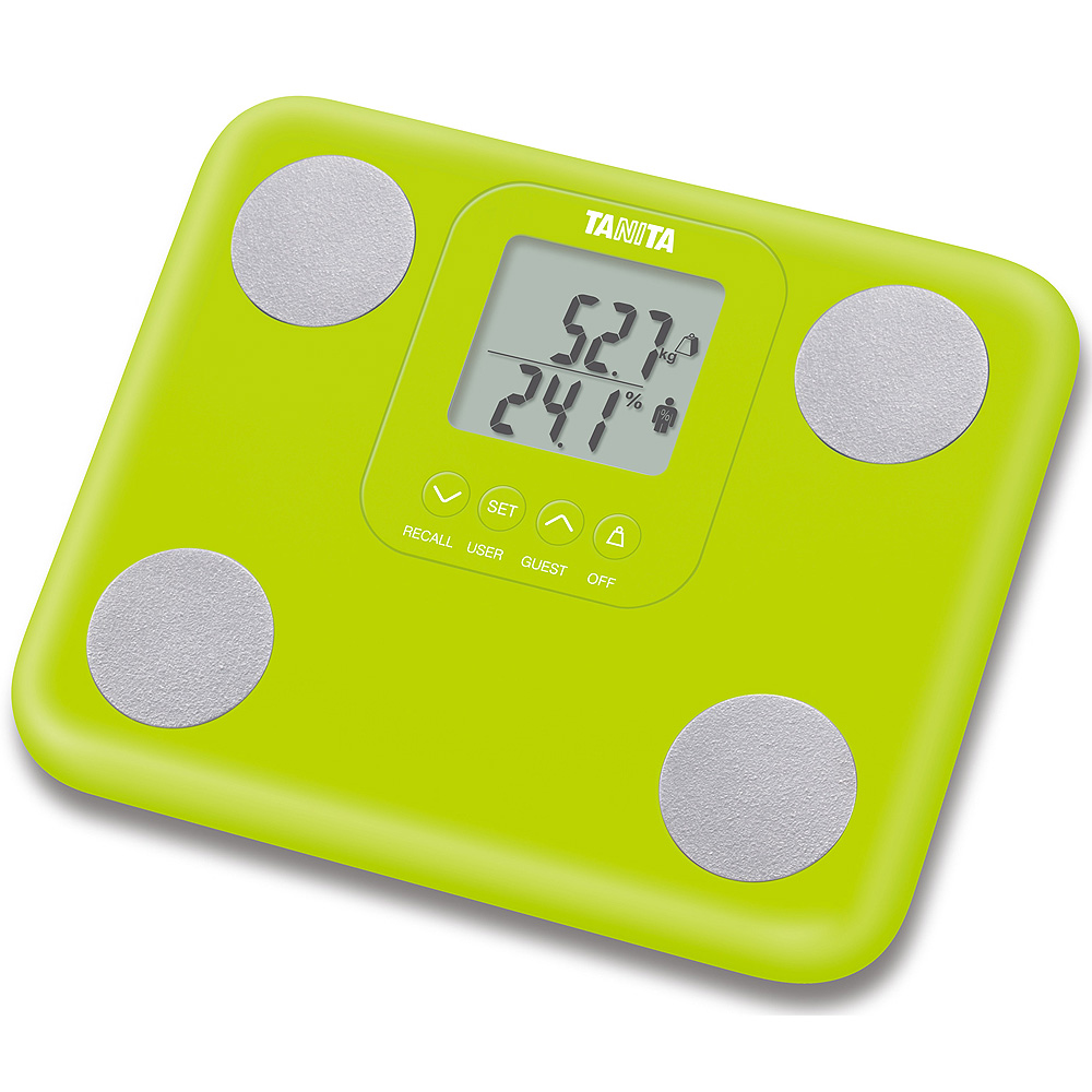 Tanita Innerscan Body Composition Monitor Scale - Green  BC730G