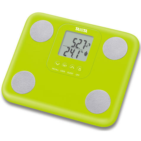 Tanita Innerscan Body Composition Monitor Scale - Green  BC730G Thumbnail 1