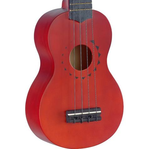 Stagg Traditional Soprano Ukulele With Tattoo Design and Gigbag Music Thumbnail 3