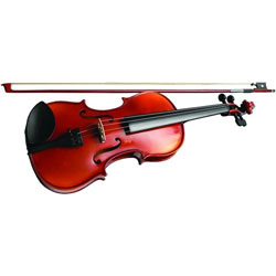 Stagg Solid Maple Violin with Soft-case Music Thumbnail 4