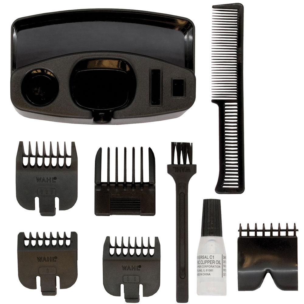 wahl performer mens hair beard moustache body neck cordless trimmer clipper kit 5037127008010 ebay. Black Bedroom Furniture Sets. Home Design Ideas