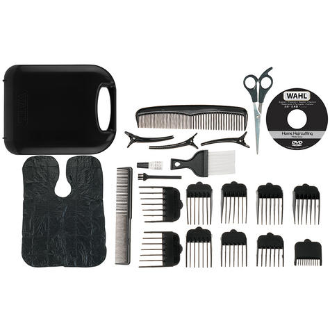 Wahl 79524-800 Chrome Pro Full Complete Home Hair Cutting Clipper Trimmer Set Thumbnail 3