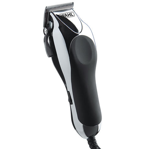 Wahl 79524-810 Deluxe Pro Chrome Complete Hair Clipper Nose Ear Trimmer Kit New Thumbnail 2