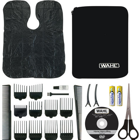 Wahl 79524-810 Deluxe Pro Chrome Complete Hair Clipper Nose Ear Trimmer Kit New Thumbnail 5