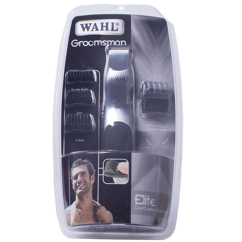 WAHL GROOMSMAN WIRELESS/BATTERY FACIAL HAIR BEARD SHAVER TRIMMER 9906-2017 Thumbnail 5