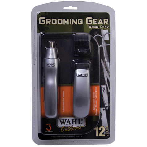 Wahl Travel Grooming Kit Trimmer Nose Ear Hair Nail Clipper & Pouch 9962-1417  Thumbnail 5