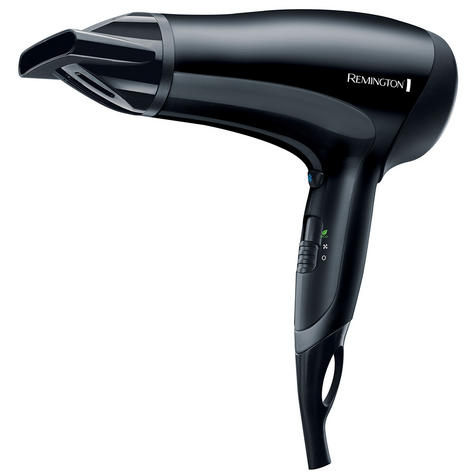 Remington PowerDry Hairdryer 2000W Beauty Hair Style Blow Dry Dryer Thumbnail 2