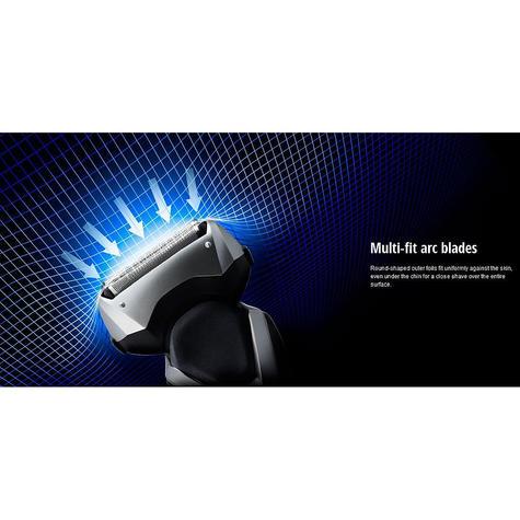 NEW Panasonic ESRT47S Wet/Dry Washable 3-blades Men's Electric Smooth Shaver Thumbnail 6
