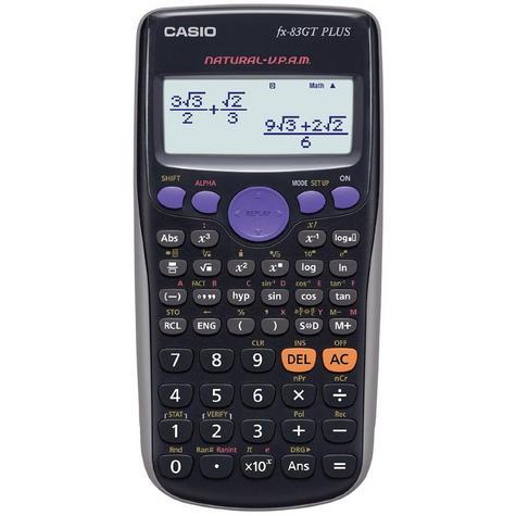 Casio FX83GTPLUS Scientific Exam GCSE A-Level Calculator Trigonometry Statistics Thumbnail 2