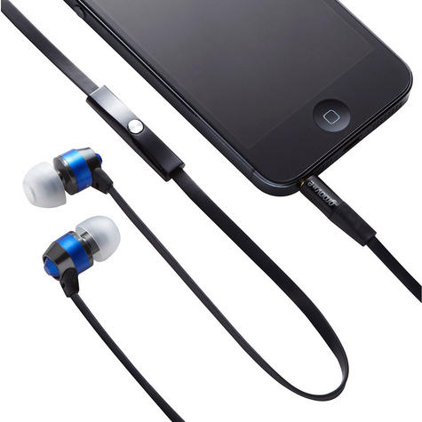 Groov-e Smart Buds Metal Earphones & Remote & Mic MP3 iPhone Android GV-EB10BE Thumbnail 2