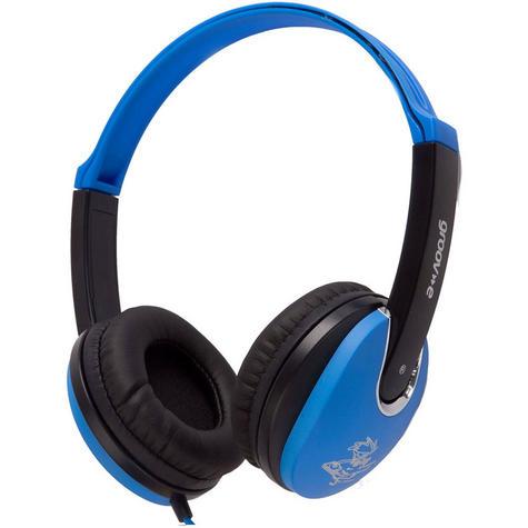 Groov-e Kidz DJ Style Headphone - Blue/Black GV590BB Thumbnail 2