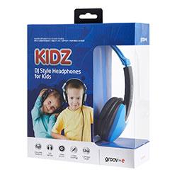 Groov-e Kidz DJ Style Headphone - Blue/Black GV590BB Thumbnail 4