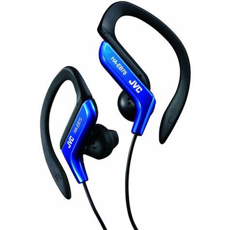 JVC Sport Running EarClip Earphone/Headphone Adjustable Clip Blue FAST DELIVERY Thumbnail 2