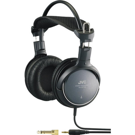 JVC HARX700 Over-Ear Extra Bass Stereo Headphones for iPhone iPod MP3 & Android  Thumbnail 2