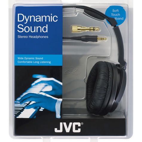 JVC HARX700 Over-Ear Extra Bass Stereo Headphones for iPhone iPod MP3 & Android  Thumbnail 3