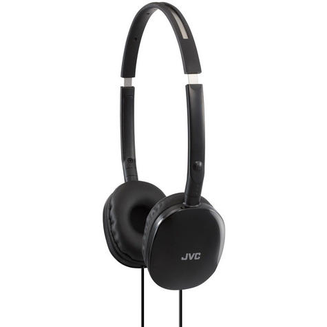 JVC HAS160 Flats Foldable Stereo Earphones for iPhone MP3 Player Deep Bass Black Thumbnail 2