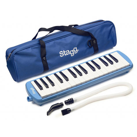 Stagg Melodica Reed Keyboard - Blue Music Thumbnail 2