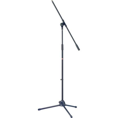 Stagg Microphone Boom Stand with Folding Legs - Black Music Thumbnail 2