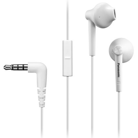 Panasonic Stereo In-Ear Earphones with Mic 3.5mm for iPhone Android SmartPhone Thumbnail 2