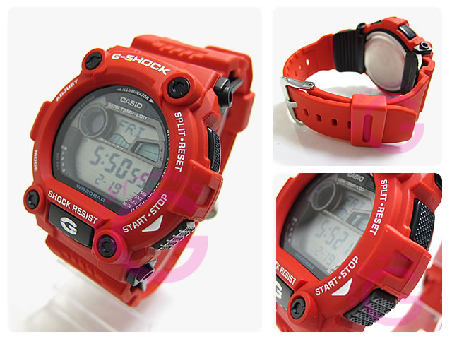 montre casio g shock red g 7900a 4er  nMBZx