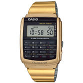 Casio Men's Collection Retro Digital Calculator Alarm Chronograph Watch CA-506G