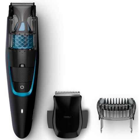 Philips Series 7000 Men's Beard & Stubble Easy Clean Less Mess Vacuum Trimmer  Thumbnail 2