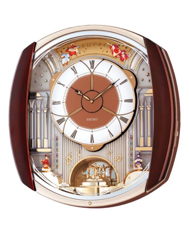 Seiko Melody In Motion Wall Clock 12 Melodies Qxm250b Ebay