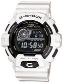 Casio G-Shock World Time White Tough SOLAR 200M Watch GR-8900A-7ER Brand NEW