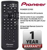 PIONEER CD R55 Remote Control for AVH Products & DEH3200BT NEW