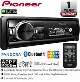 Pioneer DEH-80PRS CD MP3 Car Stereo Dual USB AUX Bluetooth SD Slot iPod iPhone