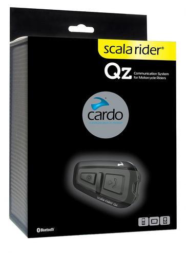 Cardo Scala Rider Qz Bluetooth Motorcycle Helmet Headset & GPS MP3 Connection Thumbnail 2