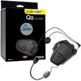 Cardo Scala Rider Qz Bluetooth Motorcycle Helmet Headset & GPS MP3 Connection