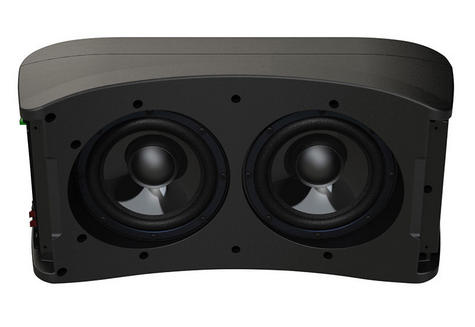 """Fusion Marine AB 206 Dual 6"""" Active Subwoofer - Built-in 4 Channel Amp (Single) Thumbnail 5"""