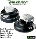 Railblaza StarPort Pair Ideal for Kayak Fishing - Black - 890-03400111 - NEW