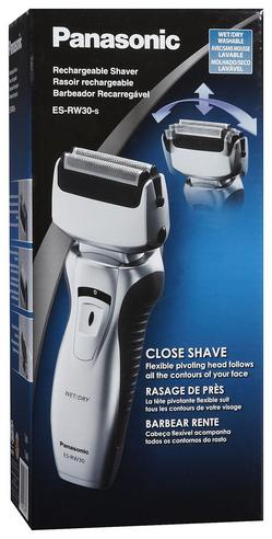 NEW Panasonic Pro-Curve Dual Blade Wet/Dry Men's Rechargeable Shaver ES-RW30  Thumbnail 5