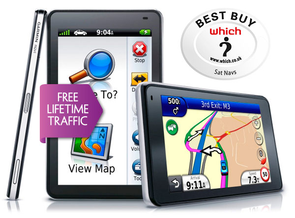 Garmin Nuvi 3760T GPS SAT NAV + Traffic Alerts UK & Full EUROPE Latest 2014 Maps