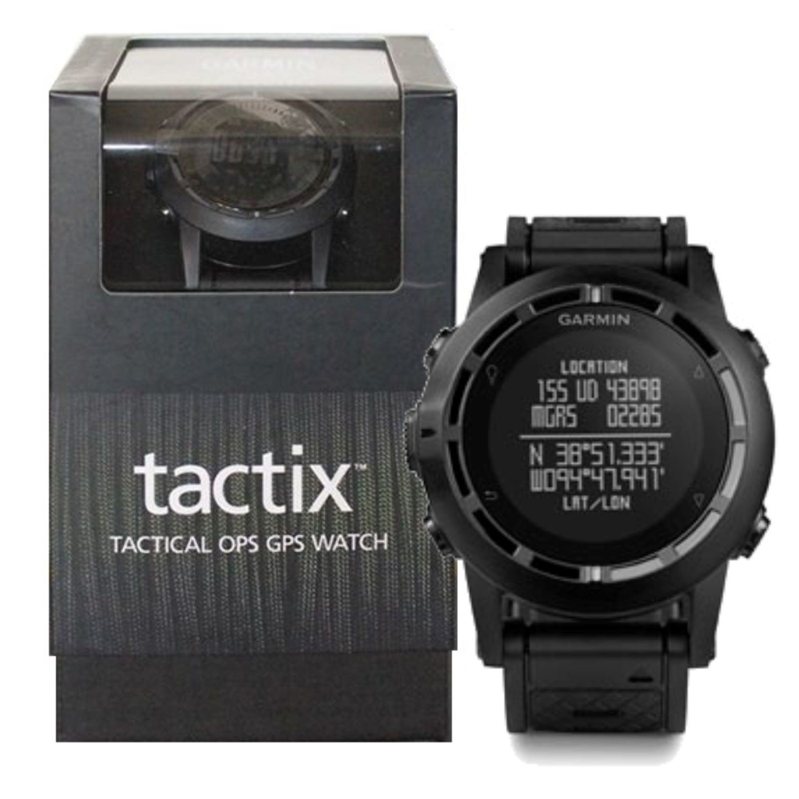 Garmin Tactix Tactical OPS GPS Navigator ABC Outdoor Sports Skydiving Watch NEW