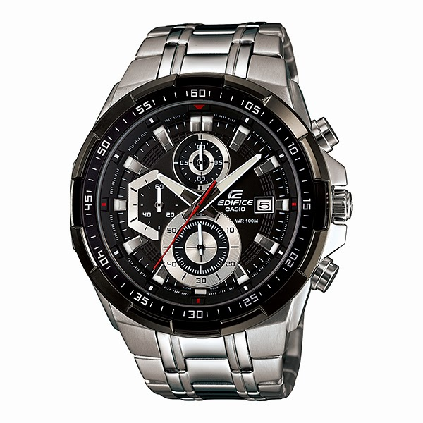 Casio Edifice Gent's Analogue Chronograph EFR-539D-1AVUEF Stainless Steel Watch