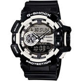 Casio Gent's G-Shock Analogue Digital 200m Water Resistant Sports Watch GA-400-1