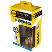 Yale Keyless Digital Touchscreen Lock for Home or Office for Indoor/Outdoor Use