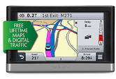 Garmin Nuvi 2468LMT-D GPS SATNAV Lifetime UK W.Europe Maps & Digital 3D Traffic