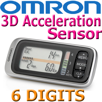 Omron Walking Style X HJ-304-E Pedometer MET Indicator