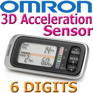 Omron Walking Style X HJ-304-E Pedometer MET Indicator Thumbnail 1