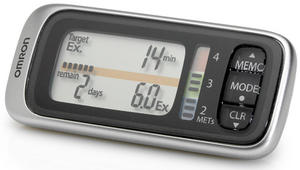 Omron Walking Style X HJ-304-E Pedometer MET Indicator Preview