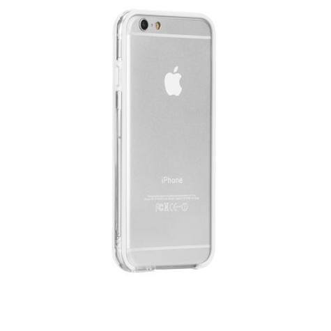 Case-Mate Tough Frame Ultra Slim Bumper Case for iPhone 6 6s 7 7S Clear/White Thumbnail 4