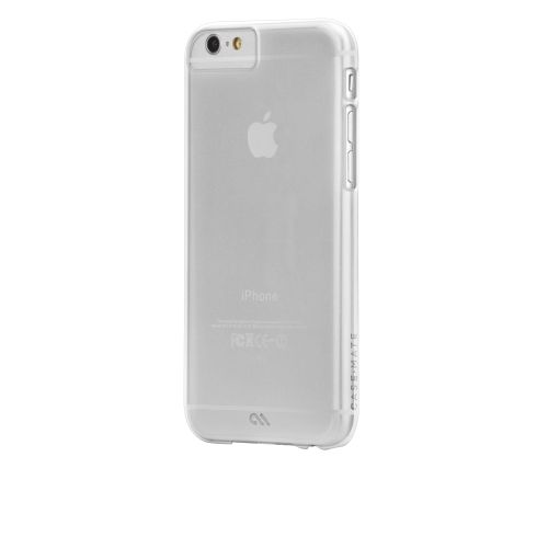 Case-Mate Barely There Clear Shell Case iPhone 6 6S 7 7S Ultra Slim Profile NEW