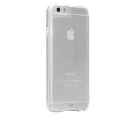 Case-Mate Barely There Clear Shell Case iPhone 6 6S 7 7S Ultra Slim Profile NEW Thumbnail 2